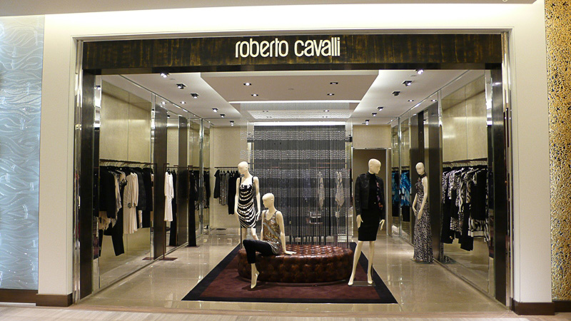 ROBERTO CAVALLI – Sak's Fifth Ave New York