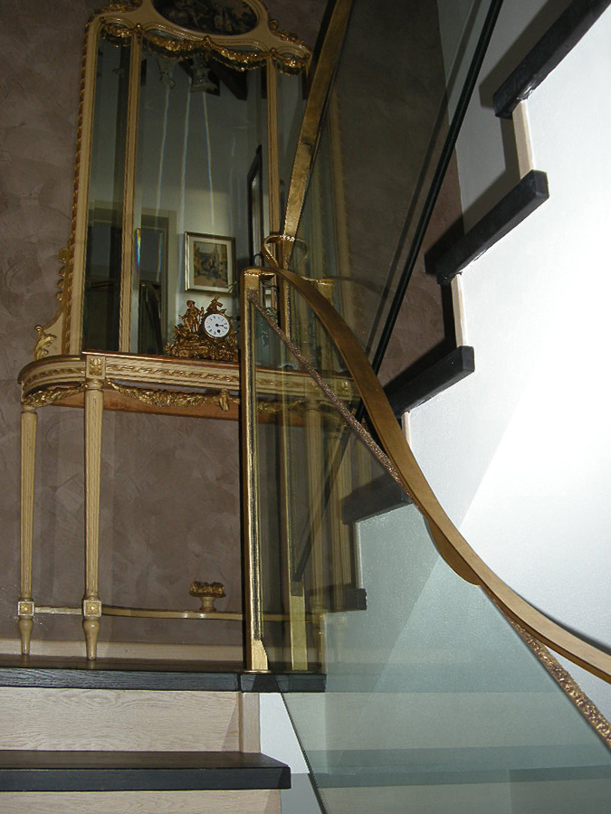 Internal stairway private home – Bazzano – Bologna